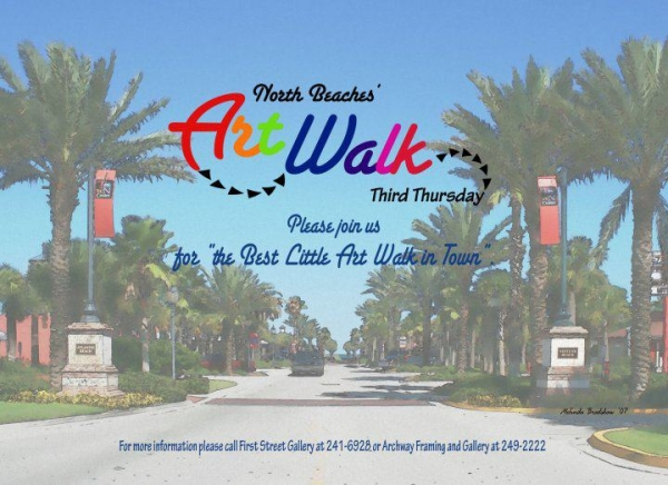 NFFN Open Mic at North Beaches Artwalk (August 15, 2019)